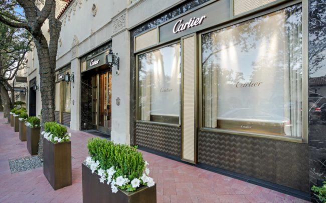 High end glazing doors - cartier