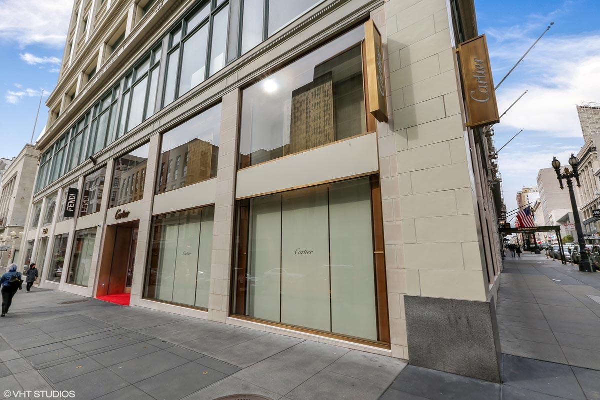 Cartier San Francisco Ca Aurora Glazing Solutions Ltd