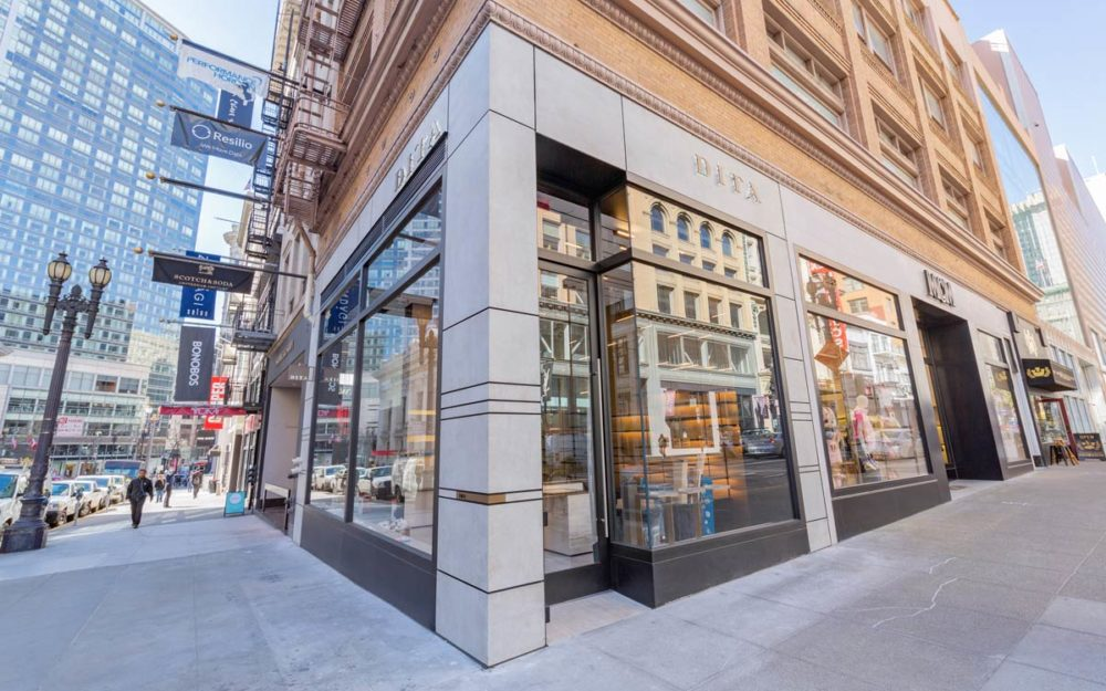 101 Geary Street - Dita - high-end glazing