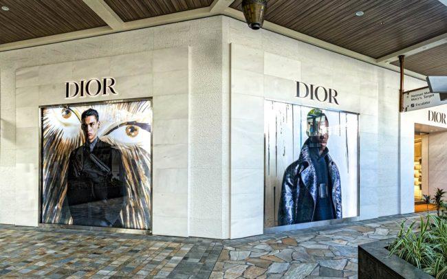 Christian Dior - Honolulu, HI, - High-end Glazing by Aurora Glazing Solutions